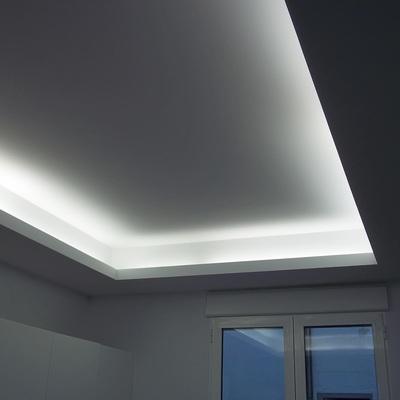 Poner falso techo de pladur para iluminaci n indirecta - Falso techo modular ...