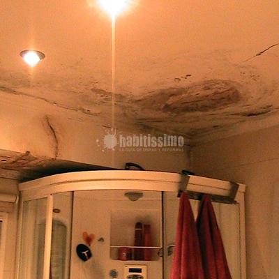 Arreglar Techo De Baño Y Pintar Dormitorio
