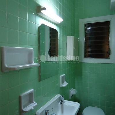 Reforma de 1 ba o y 1 lavabo barcelona barcelona for Reforma lavabo precio