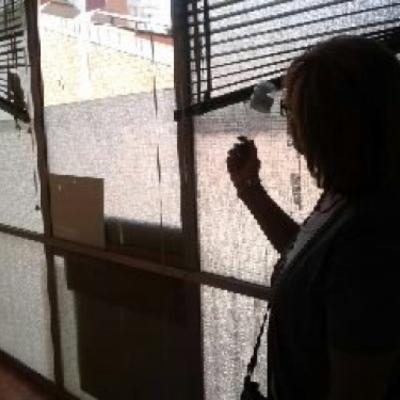 Cerrar galer a con carpinter a de aluminio barcelona - Cerrar galeria ...