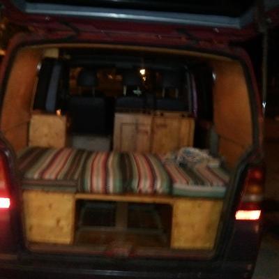 Hacer colchones para furgoneta oviedo asturias for Divatto on line