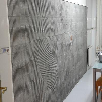 Preparar y alicatar pared de cocina castro urdiales - Alicatar cocina precio ...