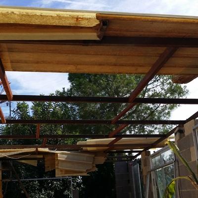 Como cubrir una terraza latest cerramiento de terrazas de for Cubrir suelo terraza