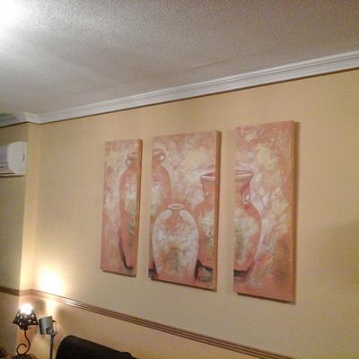 Quitar gotele y pintar en pintura pl stica torrej n de for Quitar gotele precio