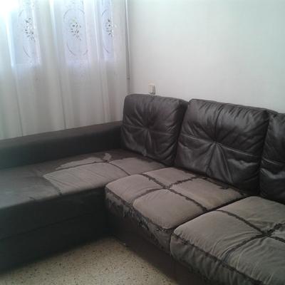 Tapizar sofa rinconera con cob sheslongs en tela o - Tapizar sofa barcelona ...