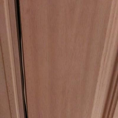 Restaurar la puerta de entrada al piso y lacar en blanco for Restaurar puertas de madera interior