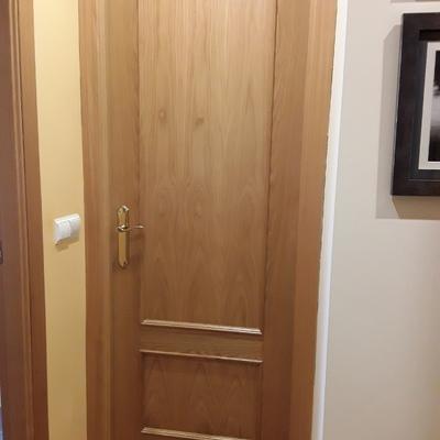Lacar en blanco puertas de roble en perfecto estado pintar - Lacar puertas en blanco presupuesto ...