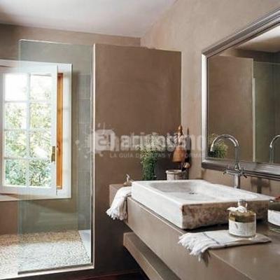 Reformar ba o y poner paredes y ducha de microcemento - Microcemento banos precio ...