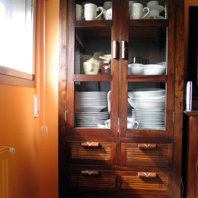 Como Pintar Un Mueble En Blanco.Pintar Muebles Coloniales En Blanco Pozuelo De Alarcon Madrid