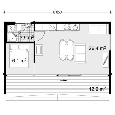 Construccion De Casa De Madera Honka Tuuma 40 1a Cee A Coruna