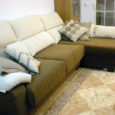 Tapizar sof solo los cojines superiores arroyomolinos - Presupuesto tapizar sofa ...