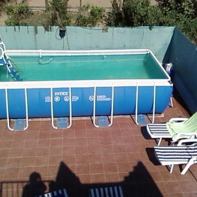 Instalacion de piscina elevada playa de nules nules for Piscina nules