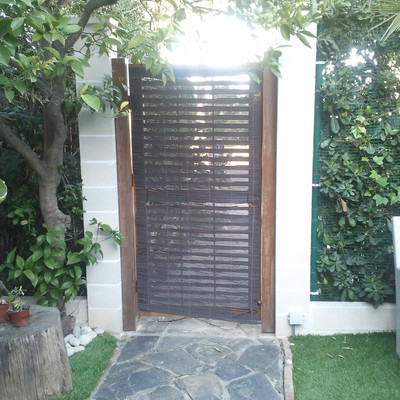 Puerta Metalica Jardin Salou Tarragona Habitissimo