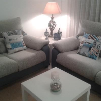 Tapizar cojines de sofa para la vivienda de comarruga - Tapiceros tarragona ...