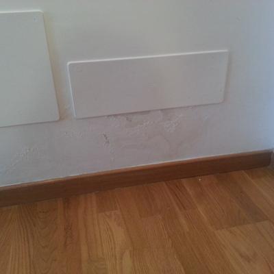 Arreglo ara azos parquet y pared adem s hay una mancha de humedad antigua que necesita - Laminas de parquet ...