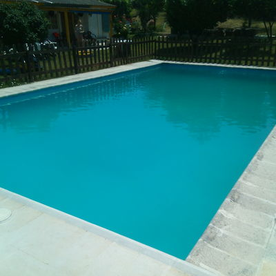 Poner gresite en fondo de piscina de 70 m2 el canto for Colocar gresite piscina
