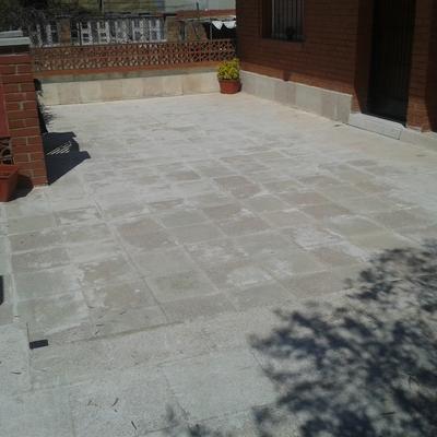 Impermeabilizaci n de terraza can amat sant esteve for Impermeabilizar terraza transitable