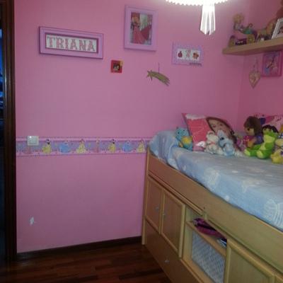 Pintar de un color la habitaci n entera una franja en otro color arteixo arteixo a coru a - Precio por pintar una habitacion ...