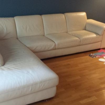 Tapizado cojines sofa piel natuzzi alcobendas madrid - Tapizar cojines sofa ...