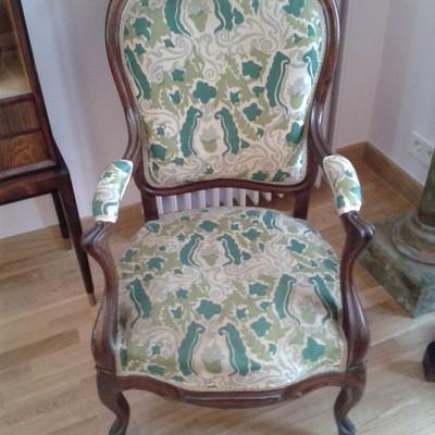 Tapizar sillas y sillones antiguos centro madrid madrid habitissimo - Presupuesto tapizar sillas ...