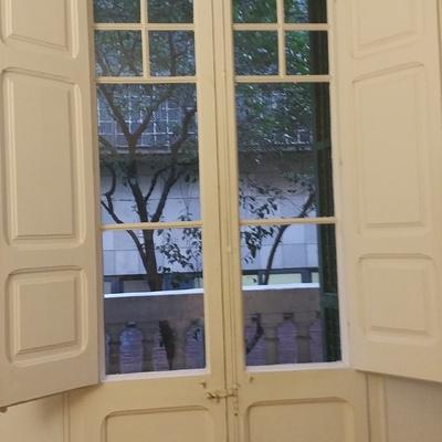 Aislar ventanas antiguas de madera - Gràcia, Barcelona (Barcelona ...