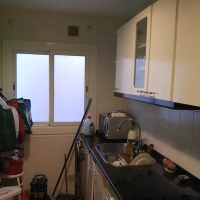 Reforma integral cocina tirar tabique y hacer cocina comedor - Can Llobet, Ba...