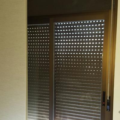 Doble acristalamiento aluminio verde para aislar del for Ventana balcon medidas