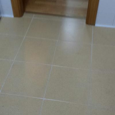 Actualizar cocina con suelo vinilico y pared papel vinilo - Precio suelo vinilico ...