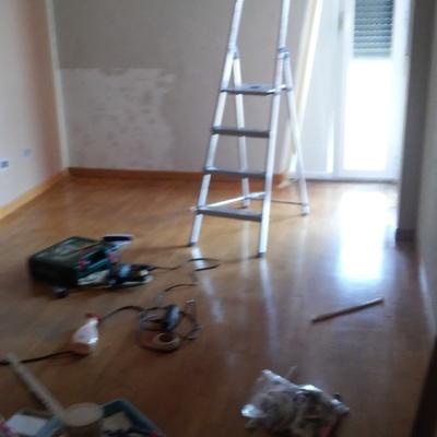 Lijar barnizar y reparar parquet habitaci n nuevo - Reparar piso parquet ...