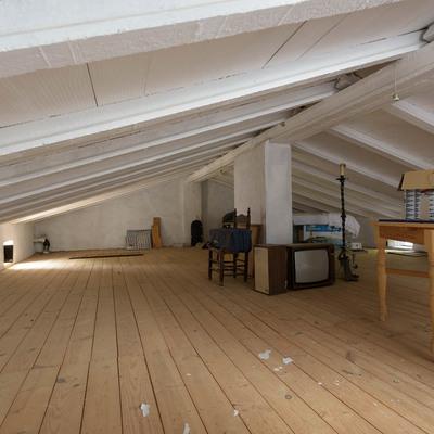 Poner pladur con aislante ecol gico en el techo de la - Colocar techos de pladur ...