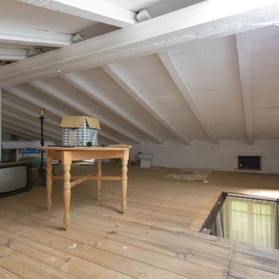 Poner pladur con aislante ecol gico en el techo de la - Poner techo de pladur ...