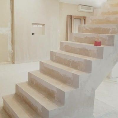 Revestir escalera interior en tarima o madera jerez de - Tarima madera interior ...