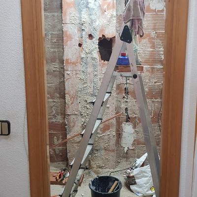 Reforma cuarto de baño solo mano de obra (materiales ya ...