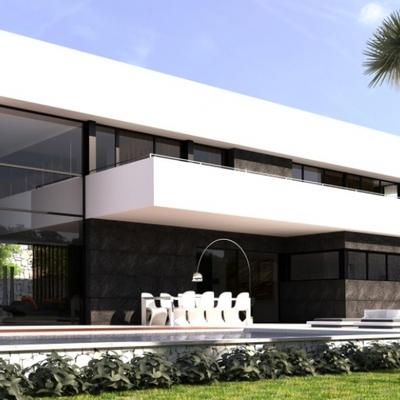 Construcci n casa moderna benidorm alicante habitissimo for Casa moderna alicante