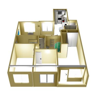 Hacer reforma integral de piso de 90 m2 san ignacio for Precio de reforma por m2