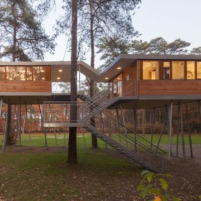 Construir casa prefabricada madera vidreres girona - Presupuesto casa prefabricada ...