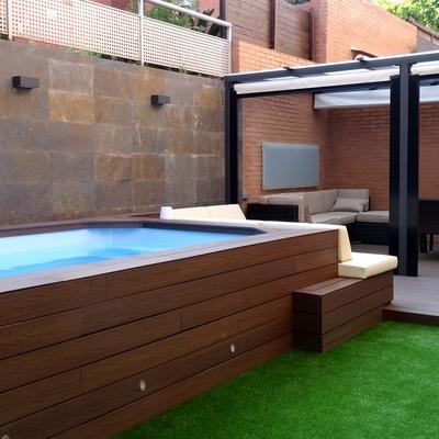 Jacuzzi En Terraza.Crear Jacuzzi En Terraza Atico Madrid Madrid Habitissimo