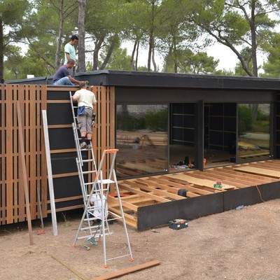Construccion casa prefabricada balc n de malaga m laga - Casas prefabricadas malaga ...