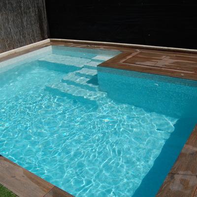 Construccion de piscina madrid madrid habitissimo - Piscinas alargadas y estrechas ...