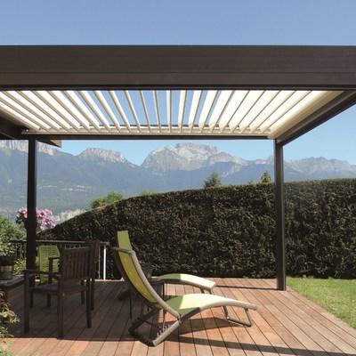 P rgola de aluminio para jardin reus tarragona habitissimo - Pergola bioclimatica precio ...