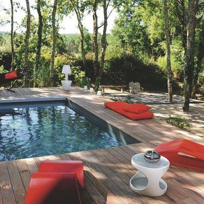 Construir piscina prefabricada con solera en madera el for Instalar piscina precios