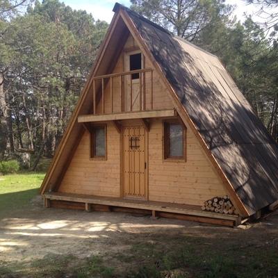 Construir casa prefabricada madera ca ada del moro ja n - Presupuesto casa prefabricada ...