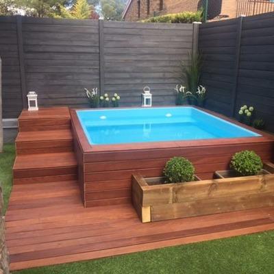 Piscina prefabricada madera valencia valencia habitissimo Madera para piscinas