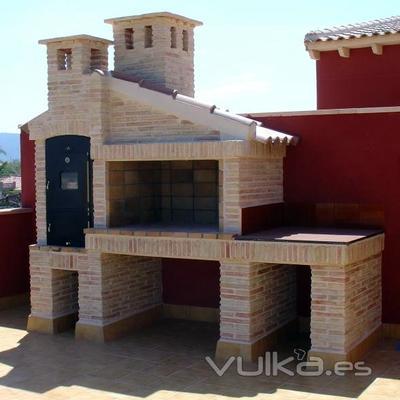 Construir barbacoa de obra valencia valencia habitissimo - Medidas barbacoas de obra ...
