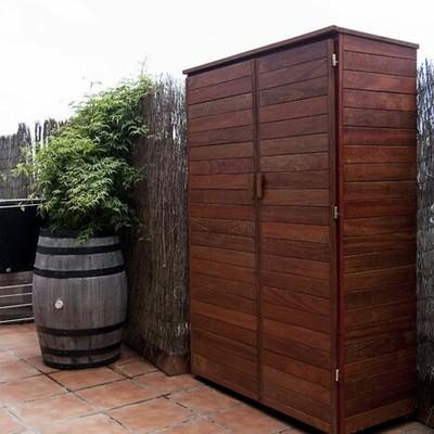Armario de madera de exterior a medida madrid madrid habitissimo - Madera a medida ...