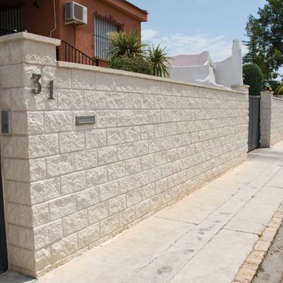 Muro de hormigon blanco illescas toledo habitissimo - Muros de hormigon ...