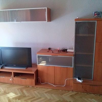 Pintar salon con muebles wengue cool good salon diseno for Como colocar los muebles del salon
