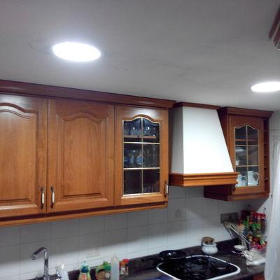 Lacar cocina madera en blanco campanar valencia - Lacar madera en blanco ...
