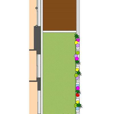 Dise ar y construir jard n de 30m2 en valdebebas - Disenar jardin online ...