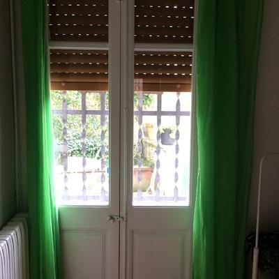 Ventanas y puertas exteriores pvc rpt imitaci n madera blanca les planes de vallvidrera - Ventanas pvc imitacion madera ...